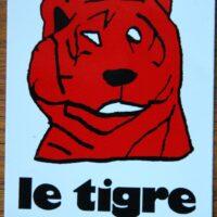 Le Tigre – Tiger (Sticker)