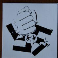 No Nazi – Fist Smash (Sticker)