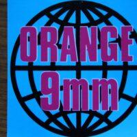 Orange 9mm – Logo (Sticker)