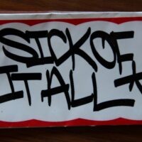 Sick Of It All – Logo (Sticker)
