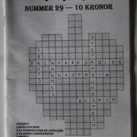 Skrutt Nr. 29 (Cramos,Avskum,Backyard Babies)