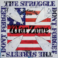 Warzone – Don't Forget The Struggle Don't Forget The Streets (Blue Vinyl LP)