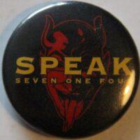 Speak 714 – Red (Badges)