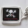 Blood For Blood - Skull (Nyckelbricka/Keyfob)