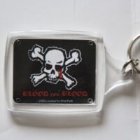 Blood For Blood – Skull (Nyckelbricka/Keyfob)