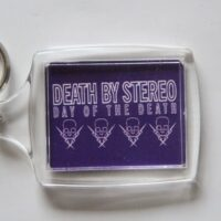 Death By Stereo – Day Of The Death (Nyckelbricka/Keyfob)