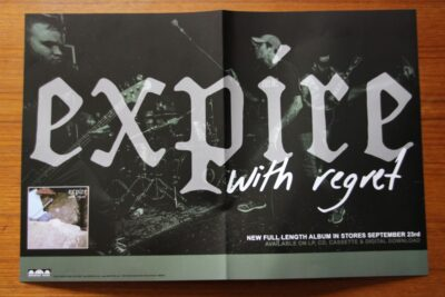Expire - With Regret (Promo Poster)