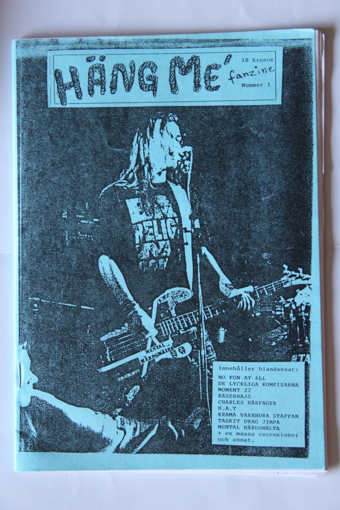 Häng Me Fanzine Nr. 1-93 (Räserbajs, Nu Fun At All, DLK)