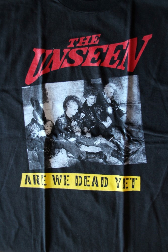 Unseen, The - Are We Dead Yet (Black, T-S)
