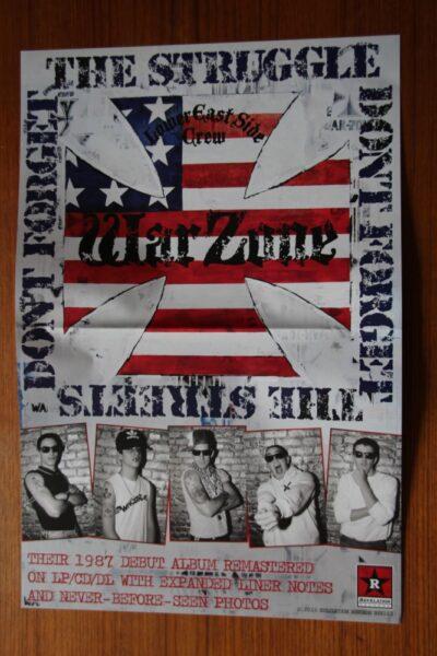Warzone - The Struggle (Promo Poster)