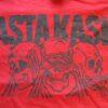 Asta Kask - Inte, Se, Höra, Prata (Dark Red, T-Shirt)