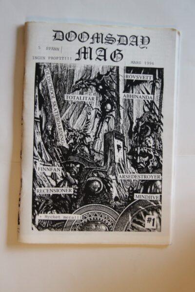 Doomsday Mag, Mars 1996 (Totalitär,Abhinanda,Arsedestroyer)