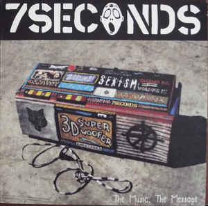 7 Seconds - The Music, The Message (Vinyl LP)