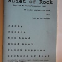 Diet Of Rock Nr. 1-97 (Randy, Bob Hund, Slush Puppies)