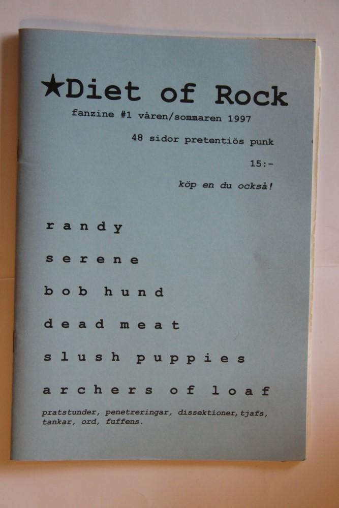 Diet Of Rock Nr. 1-97 (Randy, Bob Hund, Slush Puppies)