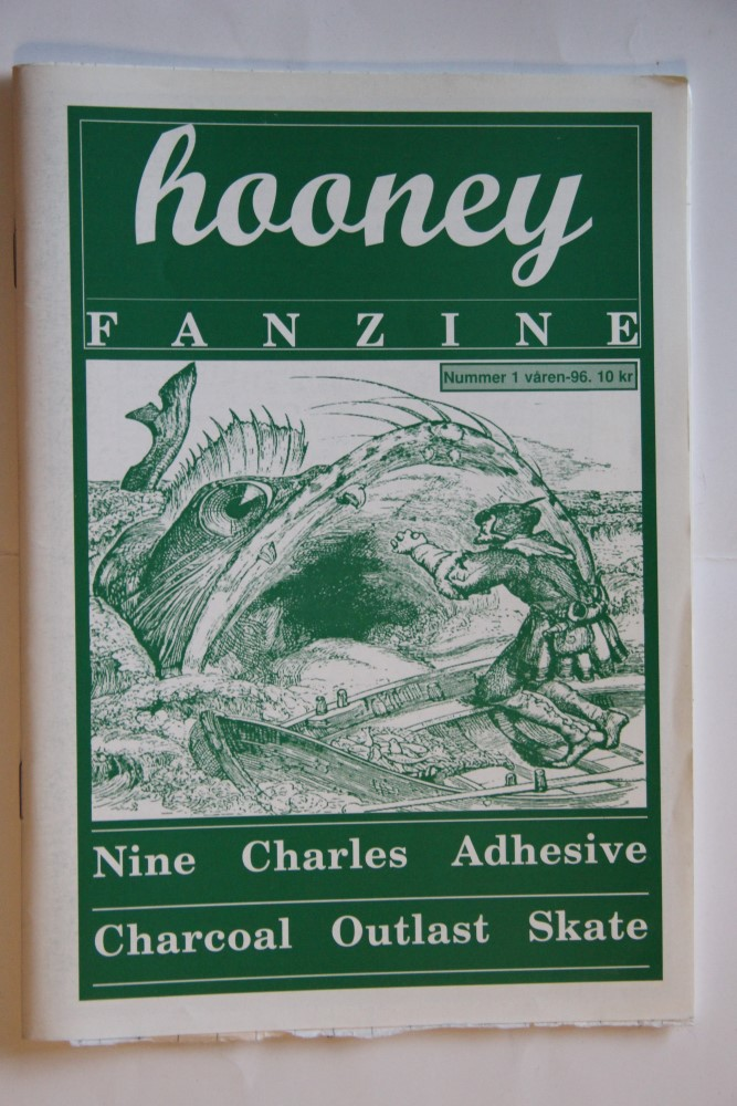 Hooney Fanzine Nr. 1-96 (Nine, Adhesive, Outlast)