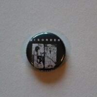 Disorder – Cover  (Badges)