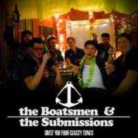 The Boatsmen & The Submissions ‎– Gives You Four Classy Tunes (Vinyl Single)