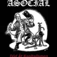 Asocial – Död Åt Kapitalismen (Color Vinyl LP)