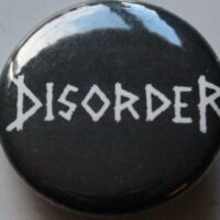 Disorder – Logo (Badges)