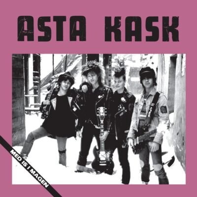 Asta Kask - Med Is I Magen (Color Vinyl LP)
