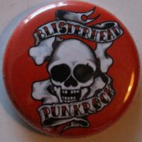Blisterhead – Punkrock/Red (Badges)