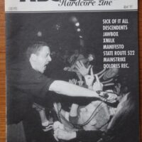 Absolut Hardcore Zine (Sick Of It All, Descendents)(Zine In Spanish)