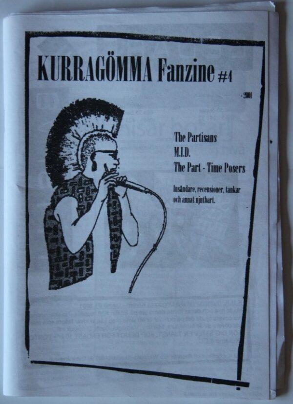 Kurragömma-4/Pulp-4 - Split Zine(Partisans,MID,Charta 77)