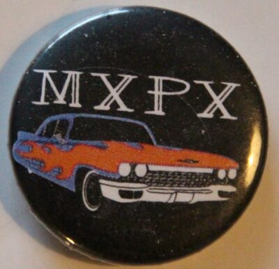 MxPx - Car (Badges)
