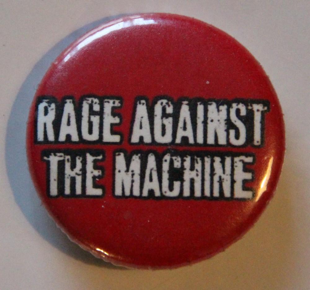 Rage Against The Machine - Logo (Badges)
