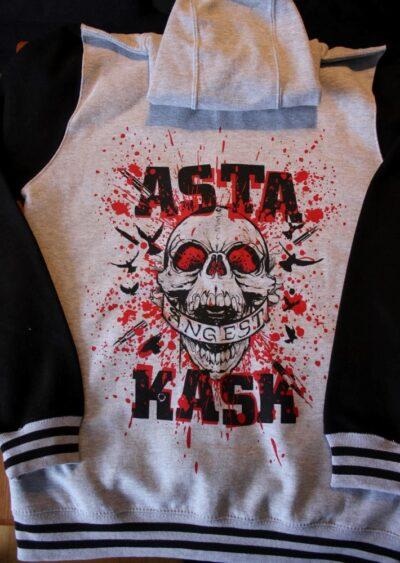 Asta Kask - Ångest (Baseball Zip Hood)