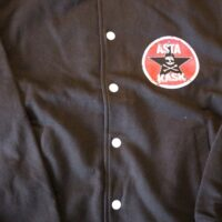 Asta Kask – Old Logo/Rock Mot Svinen (College Jacket)