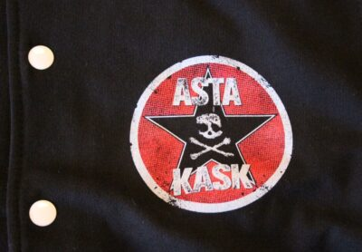 Asta Kask - Old Logo/Rock Mot Svinen (College Jacket)