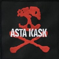 Asta Kask – Red Skull (Broderd Patch)