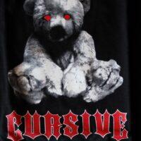 Cursive – Teddy (Black, T-S)