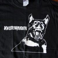 Kvoteringen – Dog (Black, T-S)