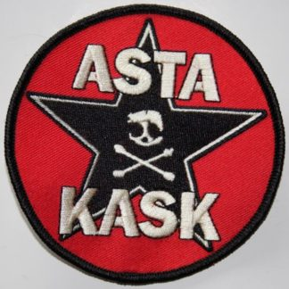 Asta Kask – Star/Skull(Broderad Patch)