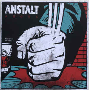 Anstalt - Anger (Color Vinyl Single)
