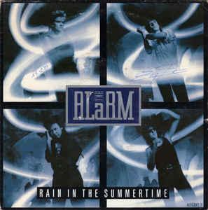Alarm, The - Rain In The Summertime (Vinyl Single)