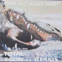 Total Egon And Dennis & Dom Blå Apelsinerna – Hoppar Högt, Hugger Snabbt (CD)