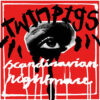 Twin Pigs - Scandinavian Nightmare (Color Vinyl LP)