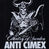 Anti Cimex – Country Of Sweden (Cloth Patch)
