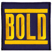 Bold – Logo (Embroidered Patch)