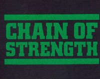 Chain Of Strenght – Logo (Cloth Patch)