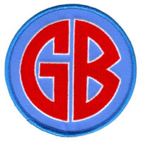 Gorilla Biscuits – GB (Embroidered Patch)