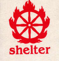 Shelter – Logo/Firewheel (Cloth Patch)