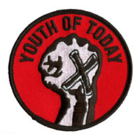 Youth Of Today – Logo/Fist (Embroidered Patch)