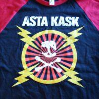 Asta Kask – Blixtar/Skalle (Baseball T-Shirt)