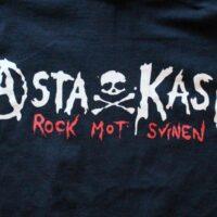 Asta Kask – Old Logo (Svart T-Shirt)