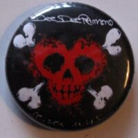 Dee Dee Ramone – Heart/Skull (Badges)
